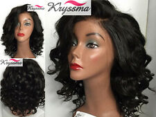 Short Curly Human Hair Lace Front Wigs Black Women Brazilian Remy Glueless Wig