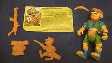 VIntage TMNT Teenage Mutant Ninja Turtles WALKABOUT 1991 COMPLETE W/Card