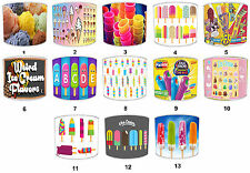 Ice Cream Lollies Lolly Lamp Shades Or Ceiling Light Shades & Lampshades