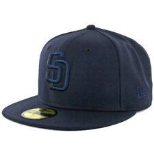 New Era 59Fifty San Diego Padres Tonal Fitted Hat (Dark Navy Blue) Cap