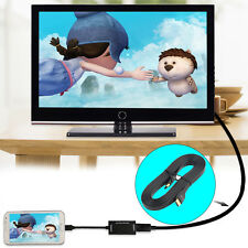 3.5mm Male to Male 1m Stereo Audio AUX Auxiliary Cable For iPhone iPod BIB