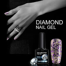 Modelones 10ml New Nail Art Glitter Soak Off UV Gel Diamonds Led Gel Nail Polish