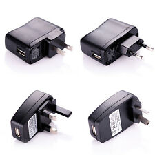 USB AC/DC Power Supply Wall Charger Adapter w/ US AU EU UK Plug for Phone MP3 4
