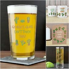 Personalised Cactus Cards & Gifts for Christmas Men's Birthday Tequila Drinkers
