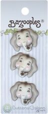 Buttons Galore 93423 BaZooples Buttons-Elsie The Elephant. Best Price