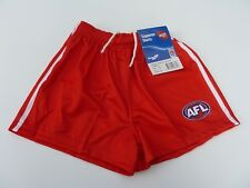 AFL SYDNEY SWANS ADULT FOOTY SHORTS - BRAND NEW