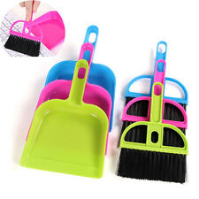 New 1Set Cleaning Sweep Keyboard Brush with Dustpan Fingerboard Broom Brush Set