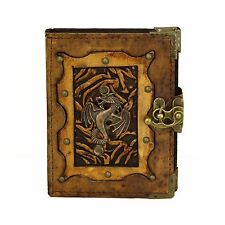 Dragon Brown Handmade Leather Journal Notebook Diary Sketchbook Book