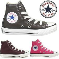 New Childrens Kids Boys Girls Hi Top Lace Up All Star Converse Trainers Shoes