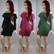 Women Sexy Mini Short Party Prom Ball Cocktail Evening Dress Bodycon Club Wear