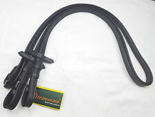 Rumani Extra Long 120 Inches Leather Continental Reins