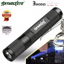 Super Bright 4000LM Zoomable CREE Q5 LED Mini Flashlight 3 Mode Torch Light Lamp