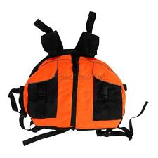 Kayaking Boating Rafting Buoyancy Aid Life Jackets Vest Blue/Orange