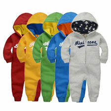 Popular Autumn Winter Baby Cotton Rompers Long Sleeve Boys Girls Jumpsuits IB