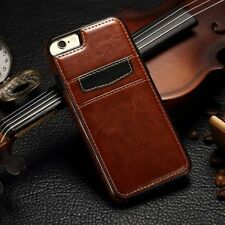 Luxury Ultra Slim Leather Wallet Card Back Case Cover For Apple iPhone 7