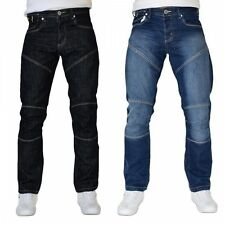 New Mens Designer Smith and Jones Denim Jeans Straight Leg Pants