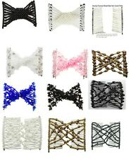 Stretchy Beaded Hair Comb Swinky Easy Magic Beads Double Hair Comb  {UK SELLER}