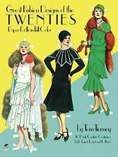 Great Fashion Designs of the Twenties: Paper Dolls in Full Color Tom Tierney Pa
