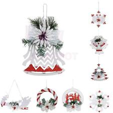 Snowflake Christmas Tree Ornaments Xmas Party Home Hanging Decoration Wall Decor