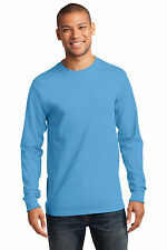 Port & Company PC61LS Mens Long Sleeve Essential T-Shirt NEW S-4XL