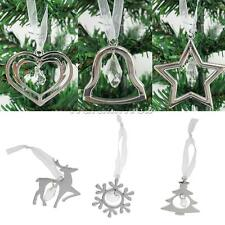 Alloy Bell/Tree/Elk/Snowflake/Star/Heart Xmas Tree Phone Hanging Ornament Décor