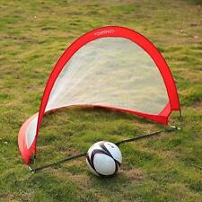 2Pcs Football Soccer Goal Post Nets For Sports Training Practice Match NEW K5D8