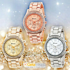 Luxury Watches Women Rose Gold Quartz Watch Classic Ladies Crystals Michael Kors