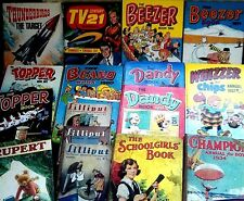 COLLECTABLE VINTAGE ANNUALS 1930/80 ~ click on SELECT to browse or order
