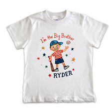 BOYS I'M THE BIG BROTHER T SHIRT PERSONALIZED FREE