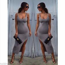 New Sexy Women dress  A low cut dress side exposed club dress fashion dress
