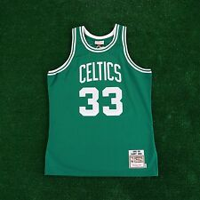 1985-86 Larry Bird Boston Celtics MITCHELL & NESS Authentic Away Green Jersey