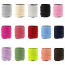 50 Yard Elastic Ribbon Band Rope Cord Webbing Trim for Sewing Millinery 18mm