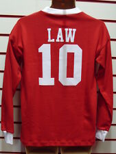 MANCHESTER UNITED 1963 DENIS LAW RETRO SHIRT(RED)