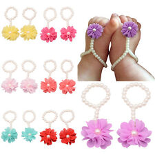 Toddler Girl Kids Baby Foot Flower Sandals Footwear Accessories Costume Shoes