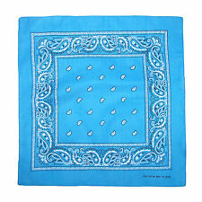 New CTM Individually Folded & Packaged Paisley Print Cotton Bandana