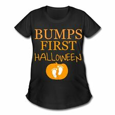 Pregnancy First Halloween Women's Maternity T-Shirt by Spreadshirt