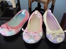 Colorful Glitter Girl's Ballet Flats Comfortable Slip On Elastic Shoes Toddler