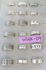 .925 Sterling Silver WHOLESALE RINGS Mixed Lots Resale Bulk Grams 925 NEW NOS
