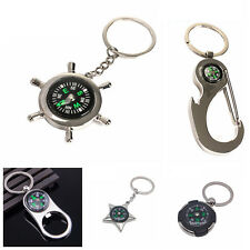 Creative Portable Bottle Opener Stars Nautical Buckle Compass Alloy Key Ring