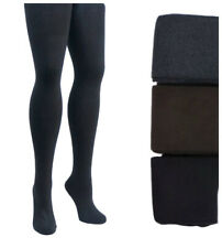 PLUS SIZE Womens 90% Cashmere Wool Opaque Thick Tights | Winter