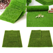 Artificial Turf Lawn Grass Plants Miniature Dollhouse Landscaping Decoration BT