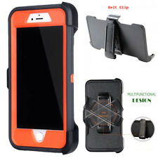 For iPhone Samsung Case Dark Grey - (Belt Clip fits Otterbox Defender series)