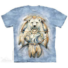 Spirit Bear T-Shirt by The Mountain. Native American Animals Bear Sizes S-5X NEW