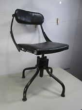 vintage do more chair co health style office chair wleather seat bela stackable office chair