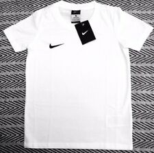New Boys Nike Blend Crew Neck T Shirt Top White Size XS 6-8 Years, L 12-13 Years