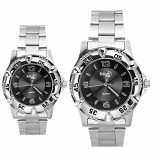 Luxury Fashion Stainless Steel Sport Analog Quartz Women Mens Wrist Watch
