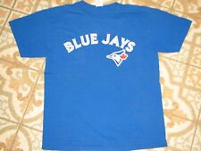 TORONTO BLUE JAYS MLB BASEBALL TSHIRT GYM MEDIUM GENUINE CANADA M OFFICIAL SHIRT