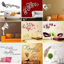 Family Room DIY Removable Wall Stickers Decal Art Vinyl Mural Home Decor Hot CC