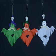 Vintage Halloween Bar Haunted House Scene Layout Props Hanging Ghost Party Decor