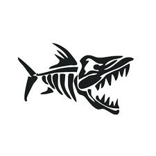 Piranha Car Laptop Sticker Car Decal Graphics Stickers Body Decals Truck Parts